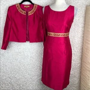 Kasper Pink Dress Suit | 6